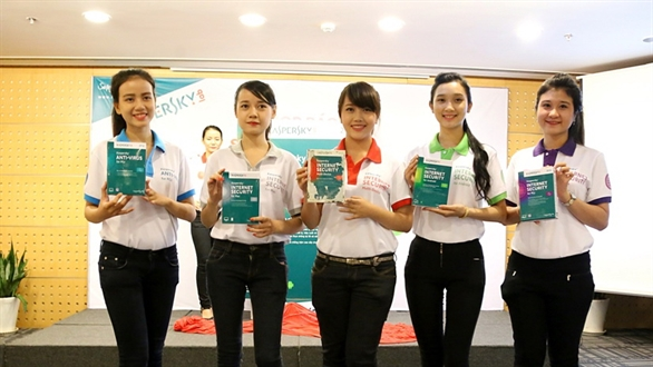 Ra mắt phần mềm bảo mật Kaspersky Internet Secutity 2014 tại Việt Nam