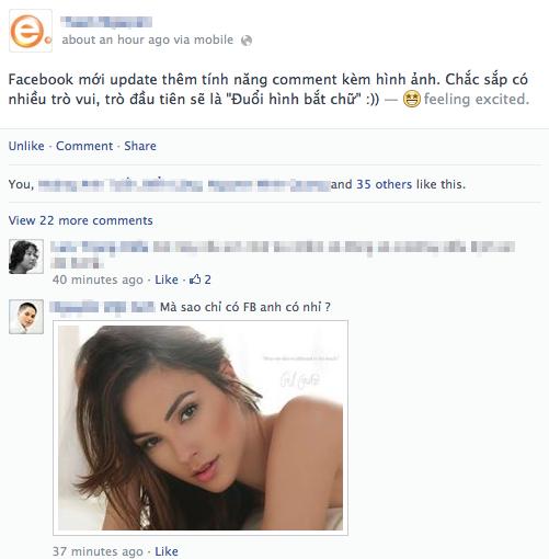 Hướng dẫn kích hoạt chức năng chèn ảnh trong bình luận trên Facebook