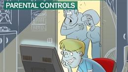 Video clip giới thiệu tính năng kiểm soát trẻ em dùng internet