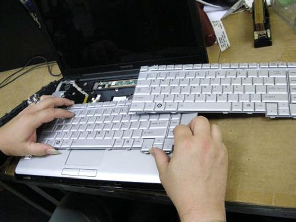 Sửa laptop bị liệt bàn phím