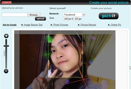Tạo avatar chuẩn cho mạng xã hội