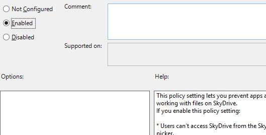 Loại bỏ SkyDrive ra khỏi hệ thống