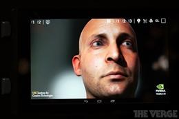 Video clip sức mạnh đồ họa của NVIDIA Tegra K1