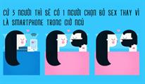 Làm thế nào để bỏ thói quen ngủ chung với điện thoại?