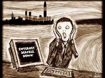 Infographic vui: Chúng ta nên làm gì khi bị mất internet?
