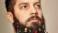 Samsung Note Edge và những bộ râu Giáng Sinh vui nhộn