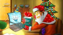 Video chúc Giáng Sinh Vui Vẻ, Năm Mới An Toàn từ Kaspersky Lab