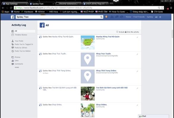 Cách đề phòng vấn nạn tag tự động trên Facebook