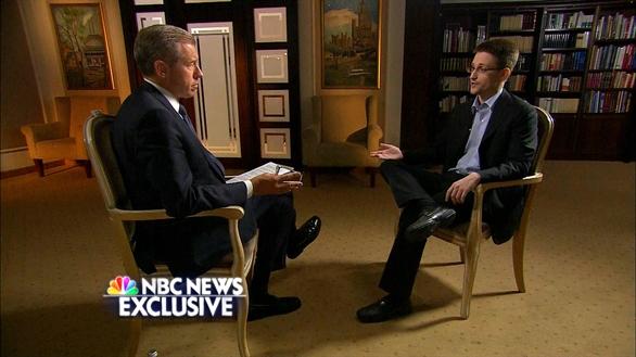 Mỹ đã đào tạo Edward Snowden làm gián điệp công nghệ