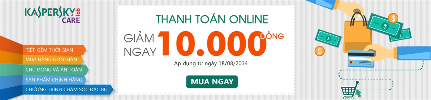 Giảm 10.000đ khi thanh toán online