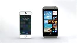 Trợ lý ảo Cortana lại đối đầu Siri của iPhone