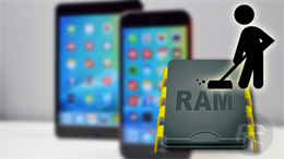 Tăng tốc iPhone bằng cách dọn dẹp RAM máy