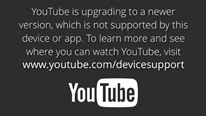 Vì sao YouTube trên smart TV không hoạt động?