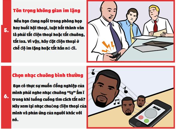 Infographic: Cách dùng smartphone chuyên nghiệp