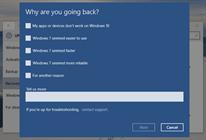 Cách hạ cấp Windows 10 về lại Windows 7 hoặc 8.1