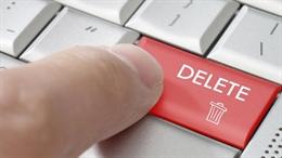 Chỉ cần nhấn nút này là bạn tự biến mất khỏi internet?