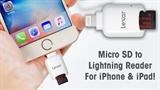 Gắn thêm bộ nhớ ngoài cho iPhone, iPad chỉ với giá 30 USD