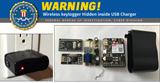 Cảnh báo: Củ sạc USB giả lén ghi lại thao tác gõ phím của người dùng
