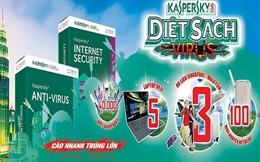 Mua phần mềm Kaspersky, trúng chuyến du lịch Singapore Malaysia