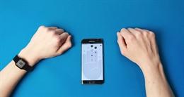 Điều khiển thiết bị và ứng dụng bằng cách cảm biến vân tay