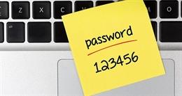 Người dùng lơ là trong sử dụng mật khẩu