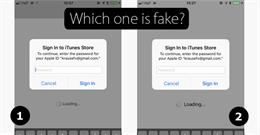 Cảnh báo hình thức lừa đảo mật khẩu iCloud ngay cả người dùng cẩn thận nhất cũng không nhận ra