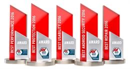 Kaspersky đạt đến 8/15 giải thưởng AV-Test Award 2016