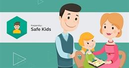 Kaspersky Safe Kids - bảo vệ trẻ trên từng bước chân
