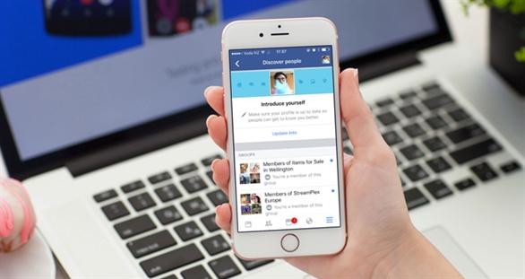 Facebook cho phép làm quen với người lạ như Tinder
