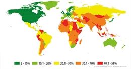 Việt Nam đứng đầu top các nước lây nhiễm máy tính cao nhất
