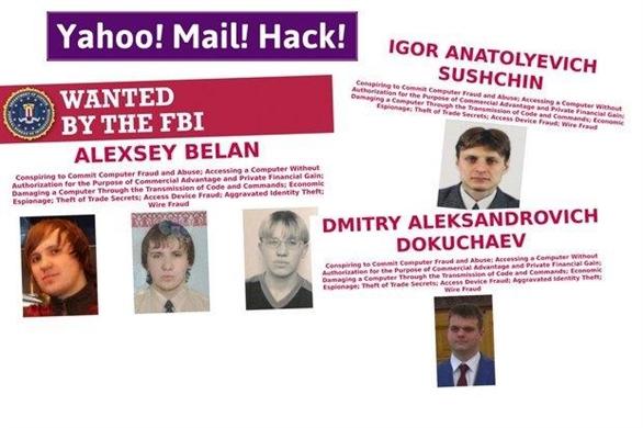 Hacker Nga nhắm vào ai khi đánh cắp dữ liệu Yahoo?