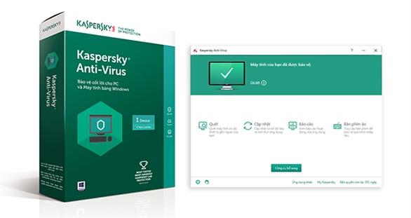 Kaspersky Anti-virus - Giải pháp diệt virus mạnh mẽ đa tính năng