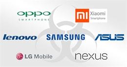 36 dòng Smartphone bị tố có cài đặt sẵn mã độc theo dõi người dùng