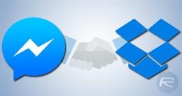 Cách đăng tải file từ Facebook Messenger lên Dropbox