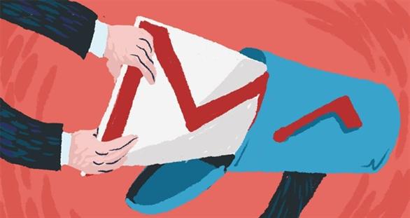 Gmail hỗ trợ nhận email đính kèm tập tin có kích thước đến 50 MB