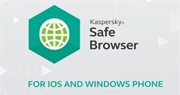 Video duyệt web an toàn ngay trên điện thoại và máy tính bảng với Kaspersky Safe Browser
