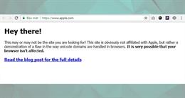 Thủ đoạn tấn công lừa đảo rất khó phát hiện ra trên Chrome, Firefox và Opera