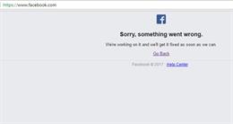 Facebook bị lỗi làm cho nhiều người không thể truy cập