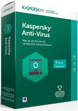 Kaspersky Anti-Virus - 3 PCs / Năm