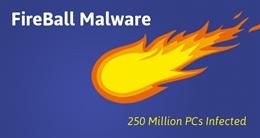 Hơn 250 triệu máy tính trên toàn thế giới bị nhiễm mã độc Fireball