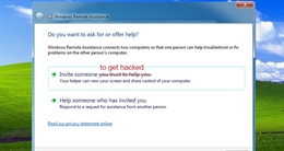 Lỗ hổng trên Windows Remote Assitance cho phép hacker đánh cắp các tập tin nhạy cảm