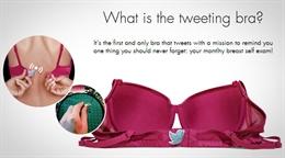 Video về áo lót Twitter giúp ngừa ung thư vú