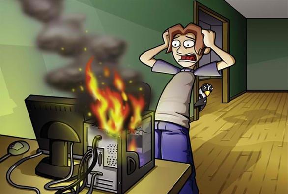 Cách xử lý khi máy tính quá nóng