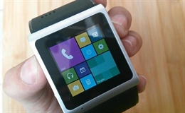 Video trải nghiệm Goophone Smartwatch giao diện Windows Phone