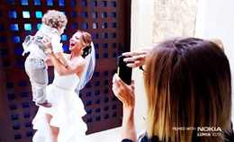 Video clip chụp ảnh cưới bằng Lumia 1020
