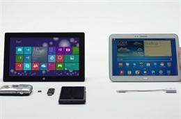 Clip quảng cáo Microsoft dìm hàng Samsung Galaxy Tab
