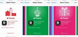 Cách gửi tặng ứng dụng iOS dịp Giáng Sinh, Năm Mới