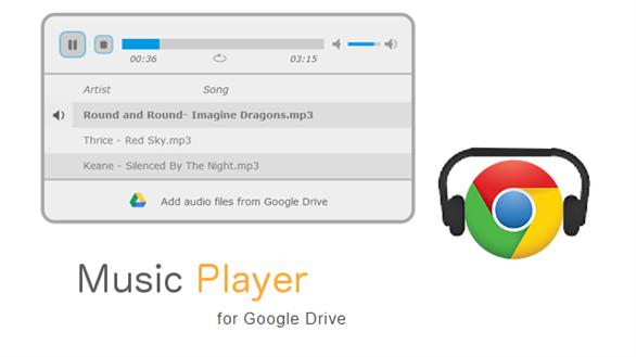 Tạo list nhạc yêu thích từ Google Drive
