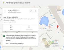 Tìm thiết bị Android thất lạc nhanh chóng