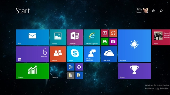 Cách chuyển Start Menu sang Start Screen trên Windows 10